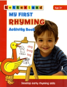 My First Rhyming Activity Book : Develop Early Rhyming Skills, Paperback / softback Book