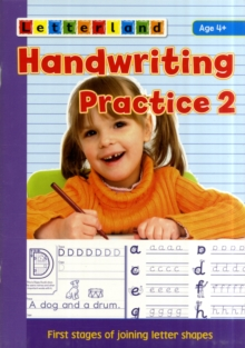 Handwriting Practice : Learn to Join Letter Shapes 2, Paperback Book