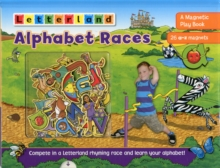 Alphabet Races : A Magnetic Play Book, Hardback Book