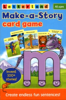 Make-a-Story Card Game, Cards Book