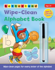 Wipe-Clean Alphabet Book, Paperback / softback Book