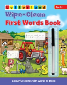 Wipe Clean First Words Book : Wipe-Clean Scenes with Words to Trace, Paperback Book