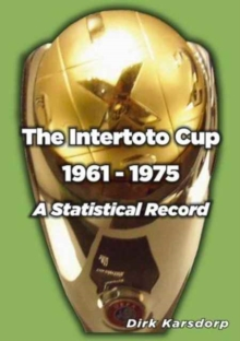 INTERTOTO CUP 1961-1975!, Paperback Book