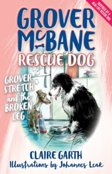 Grover McBane Rescue Dog: Grover, Stretch and the Broken Leg, Paperback Book