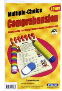 Multiple Choice Comprehension : Understanding Text Through Word Study and Comprehension Lower, Paperback Book