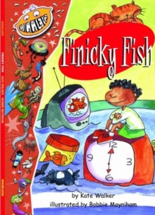 Gigglers Red Finicky Fish, Paperback Book