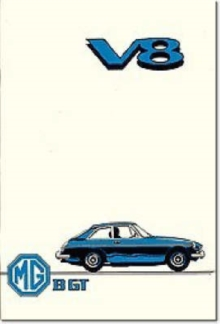 MG MGB GT V8 : Owners' Handbook, Paperback / softback Book