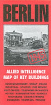 Berlin Intelligence Map, Sheet map, folded Book