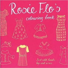 Rosie Flo's Colouring Book - dark pink, Paperback / softback Book