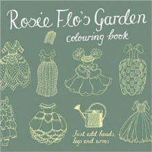 Rosie Flo's Garden Colouring Book - green, Paperback / softback Book