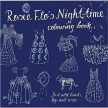 Rosie Flo's Night-time Colouring Book, Paperback Book
