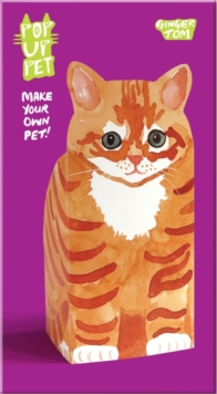 Pop Up Pet Ginger Tom, Cards Book