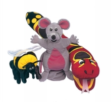 Jolly Phonics Puppets : Set of all 3, Soft toy Book