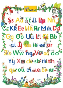 Jolly Phonics Letter Sound Poster : in Precursive Letters (British English edition), Poster Book