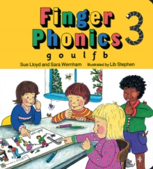Finger Phonics book 3 : in Precursive Letters (BE), Board book Book