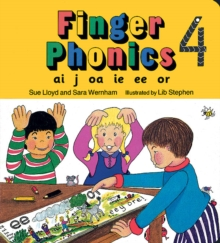 Finger Phonics book 4 : in Precursive Letters (BE), Board book Book