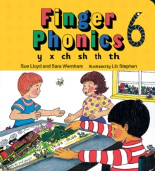 Finger Phonics book 6 : in Precursive Letters (British English edition), Board book Book