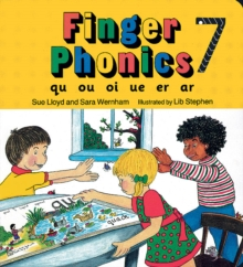 Finger Phonics book 7 : in Precursive Letters (BE), Board book Book