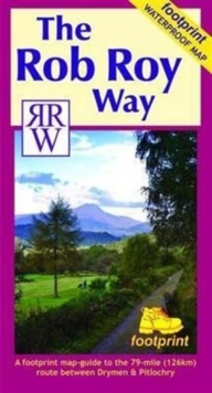 The Rob Roy Way, Sheet map, folded Book
