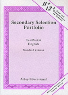 Secondary Selection Portfolio : English Practice Papers (Standard Version) Test Pack 6, Loose-leaf Book