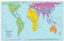 Peters World Map : Folded, Sheet map, folded Book