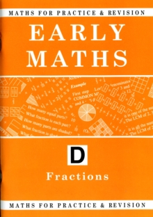 Maths for Practice and Revision : Early Maths Bk. D, Paperback Book