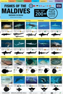 "Maldives Fish Field Guide ""Top 200+"", Poster Book"