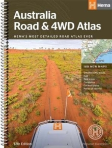 Australia Road and 4WD atlas spiral : HEMA.A.040SP, Spiral bound Book