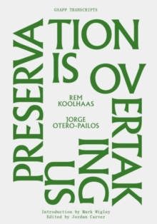 Preservation is Overtaking Us, Paperback / softback Book