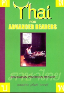 Thai for Advanced Readers, Paperback Book