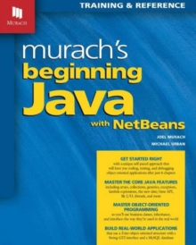 Murach's Beginning Java with NetBeans, Paperback Book