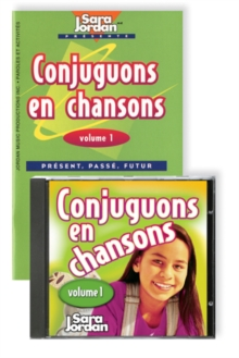 Conjuguons en Chansons, Mixed media product Book