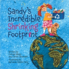 Sandy's Incredible Shrinking Footprint, Paperback Book