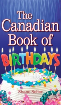 Canadian Book of Birthdays, Paperback Book