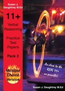 Verbal Reasoning Multiple Choice Test Papers : Pack 2, Paperback Book