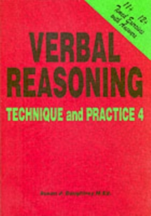 Verbal Reasoning : Technique and Practice No. 4, Paperback Book