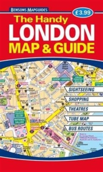 The Handy London Map & Guide, Paperback / softback Book