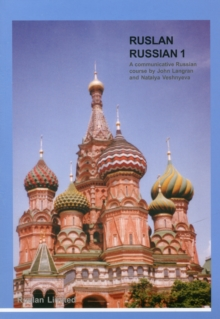 Ruslan Russian 1: A Communicative Russian Course with MP3 audio download, Paperback Book