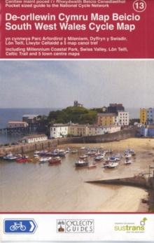 South West Wales Cycle Map, Sheet map Book