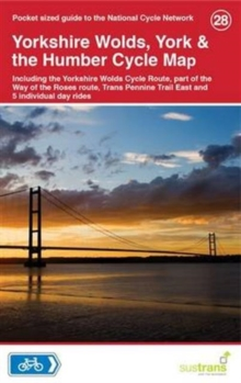 Yorkshire Wolds, York & The Humber Cycle Map 28, Sheet map, folded Book