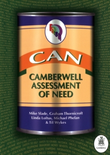 CAN : Camberwell Assessment of Need, Spiral bound Book