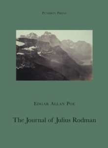 The Journal of Julius Rodman, Paperback Book