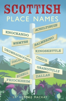Scottish Place Names, Paperback Book