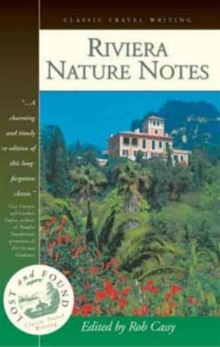 Riviera Nature Notes, Paperback / softback Book