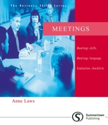 Business Skills Series: Meetings, Paperback / softback Book
