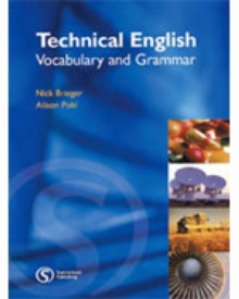 Technical English : Vocabulary and Grammar, Paperback Book