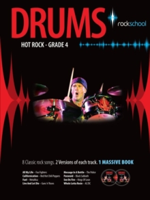 Rockschool Hot Rock Drums Grade 4, Paperback Book