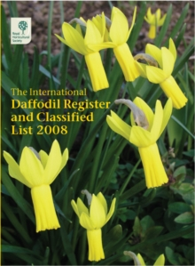 INTERNATIONAL DAFFODIL REGISTER, Paperback Book