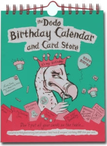 Dodo Birthday Calendar and Card Store : A Pocketed Birthday/Anniversary Card Calendar - Keep Track of Everyone's Birthday AND Store Your Cards, Spiral bound Book
