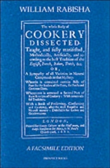 The Whole Body of Cookery Dissected, Paperback Book